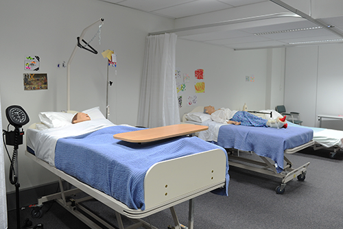 aged care simulation laboratories