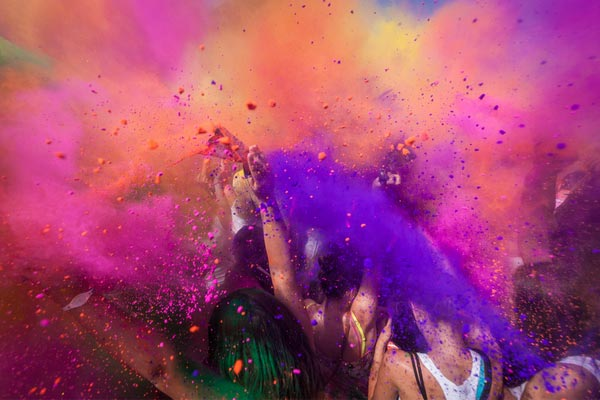 Holi Festival Of Colours in Melbourne