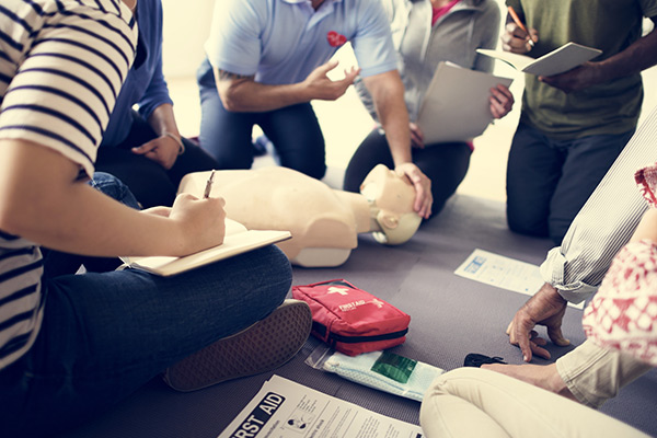 The confidence to act through first aid training