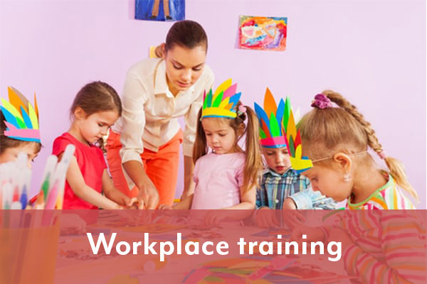 workplace training child care selmar