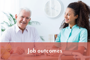 aged care job outcomes