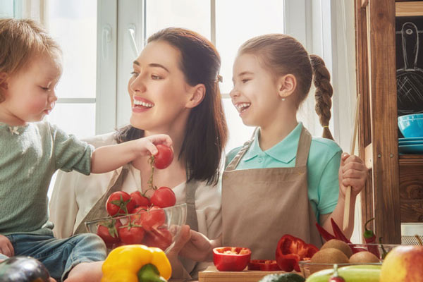 Get cooking to enhance children's development in five amazing ways